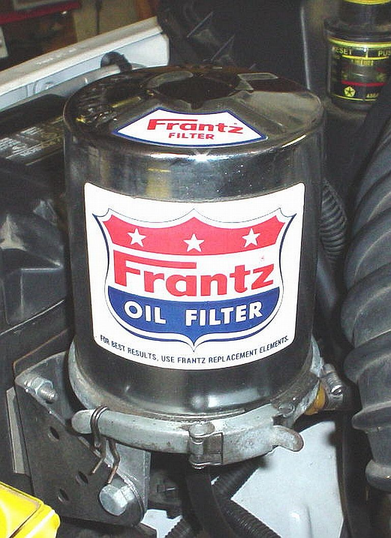 Anatomy Of A Frantz Toilet Paper Bypass Oil Filter Dodge 2001 Duramax Fuel Housing That Does Not Replace The Existing Stock It Simply Provides Separate Additional Down At Lower Particle Sizes